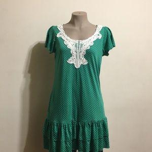 Dresses & Skirts - Polka dot mini dress
